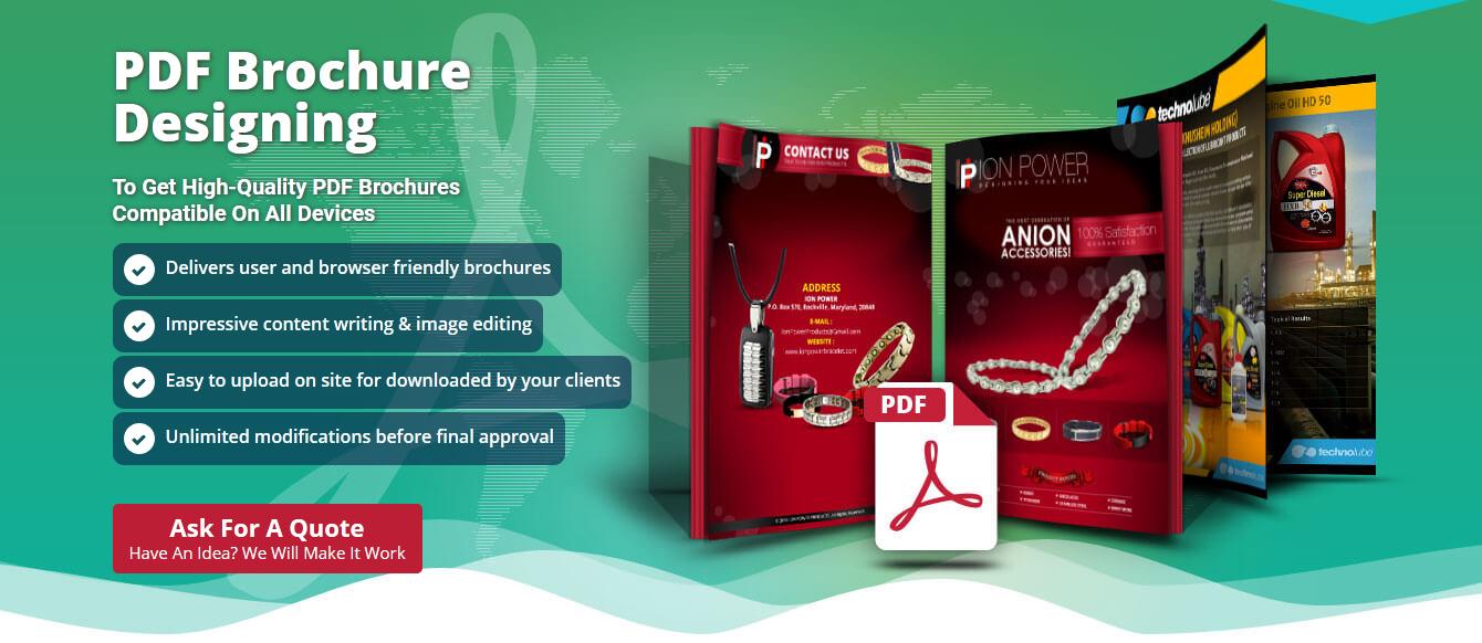 PDF Brochure Designing